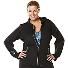 Women's workout Hooded Jacket - Plus Sizes too - seen on The Biggest Loser