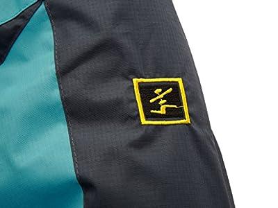 Wantdo Women's Sports Outdoor Hooded Softshell Rain Jacket Windproof Jacket
