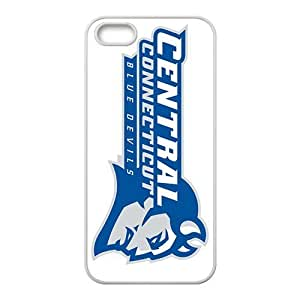 NCAA Ccsu Blue Devils Primary 2012 White For SamSung Galaxy S6 Phone Case Cover