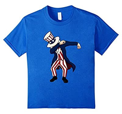 Funny Dabbing Shirt Sam Independence Day 4th of July T-shirt