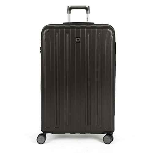 Delsey Luggage Helium Titanium 29'' Exp. Spinner Trolley, Black by DELSEY Paris