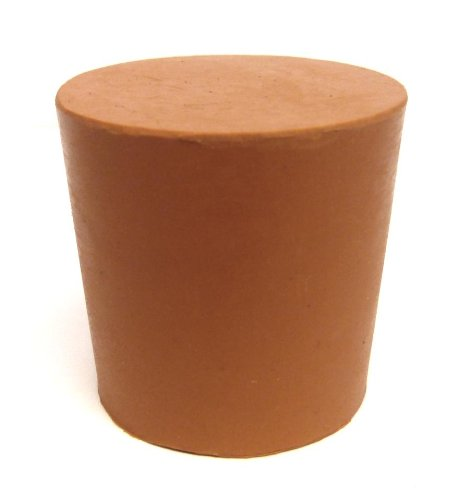 PACK OF 10 RUBBER BUNG/STOPPER NO.33 (33MM X 38.5MM X 38.5MM) KING SCIENTIFIC