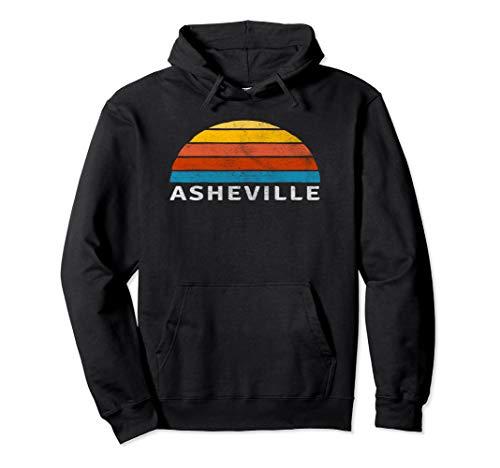 Asheville Retro Sunset Hoodie