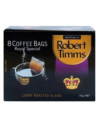 Robert Timms Coffee Bags Royal Special 8 Pack: Amazon.es: Alimentación y bebidas