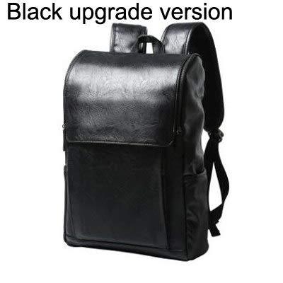Amazon.com: Men Canvas Backpack Large Size Student 14 inch Laptop JASONTUTU Brand Design Pu Leather Black B06: Kitchen & Dining