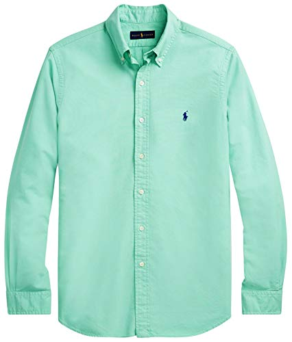 id Sport Oxford Shirt (S, SunSetGreen) ()