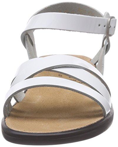 Ganter Sonnica, Weite E - Sandalias Mujer Blanco - Weiß (weiß 0200)