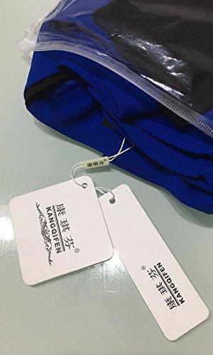 Kangqifen Women's Long Sleeve Business Offcie Suit Skirt Set (Small, Royal Blue) by Kangqifen (Image #6)