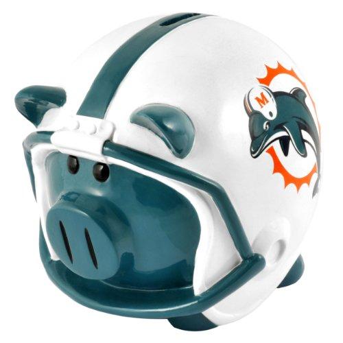Miami Dolphins Helmet Piggy Bank (Piggy Bank Dolphins)