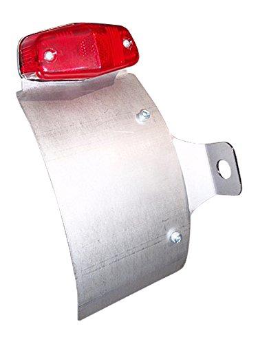 部品屋K&W SR400/500 サイドナンバーKIT (ルーカステール付) 純反り (リア側へ凸) P26151   B01GZPHO84