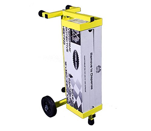 """Angel Guard Nomad Sheeting Dispenser and Portable Solution Your Shop Needs - Fits Boxes 23.5"""" - 40"""" Long by Angel Guard (Image #4)"""