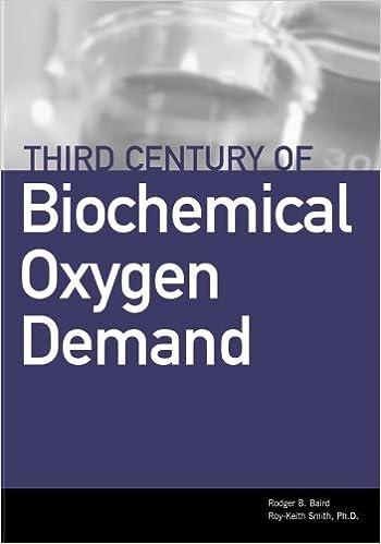 Book Third Century of Biochemical Oxygen Demand