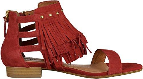 Tamaris - Sandalias de Vestir Mujer Rosa - rojo oscuro