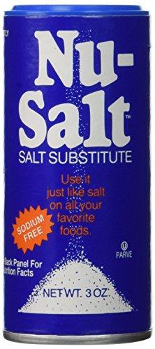 Nu-Salt Substitute Shaker, 3 Ounce