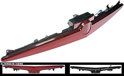APDTY 119790 3rd Third Center Mount Brake Light Lamp Assembly Fits 2003-2007 Cadillac CTS (Replaces 15930589)