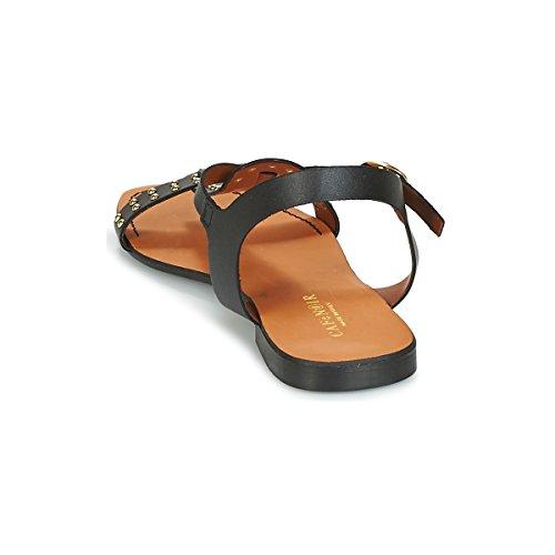 Goujons E18 Sandal Des Avec 010 Cafè Nero Noir Kgc158 axvBwOX