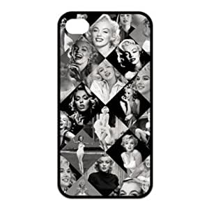 Saot Tal Custom Your Own protective Marilyn Monroe Iphone 4/4S Case Cover, Personzlised Marilyn Monroe Iphone 4/4S Case Cover