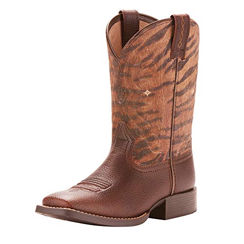 Ariat Unisex Quickdraw Western Boot, Pebbled Pinecone, 11 M US Little Kid