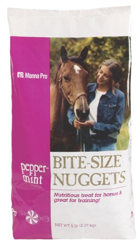 Manna Horse Treats Peppermint Nuggets 5 Lb Reeves BC067638