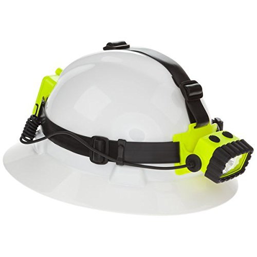 Nightstick XPP-5456G Intrinsically Safe Permissible Dual-Light Multi-Function Headlamp, Green by Nightstick (Image #1)