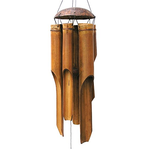 Cohasset Gifts 134 Cohasset Plain Antique Bamboo Wind Chime, ()