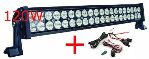 Lancôme Arbeitsscheinwerfer 120 W 40 LED 12 V 24 V 10 – 30 V Jeep W ...