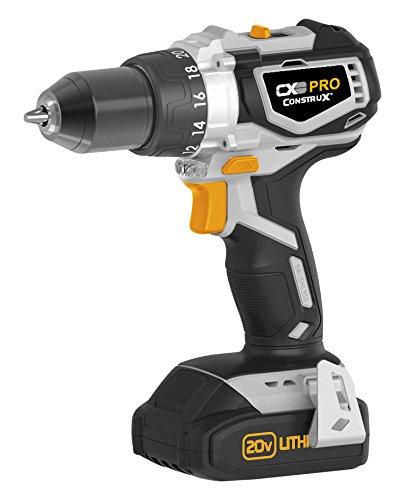 CONSTRUX PRO CXP20VD 20V Brushless Cordless Drill/Driver