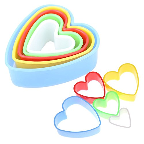 JD Million shop 1Set/5Pcs Christmas Tree Cookies Cutter Frame Cake Mould DIY Star Tree Round Heart Flower Mold Cookie Maker Decoration