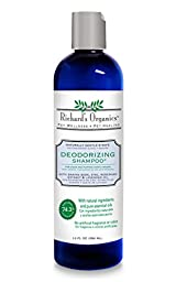 SynergyLabs Richard\'s Organics Deodorizing Shampoo with Baking Soda, Zinc, Rosemary Extract and Lavender Oil; 12 fl. oz.