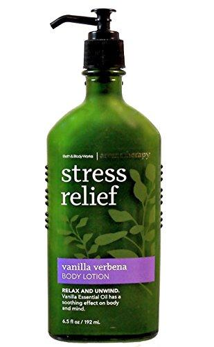 Verbena Aromatherapy - Bath & Body Works Aromatherapy Stress Relief Vanilla Verbena Body Lotion