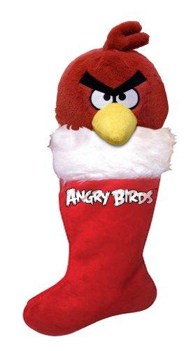 Angry Birds Christmas Plush Stocking, Red Bird