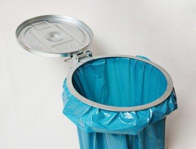 M/üllsackst/änder f/ür Kunststoff Praktischer Metall M/üllsackhalter oder Papiers/äcke bis 120 Liter