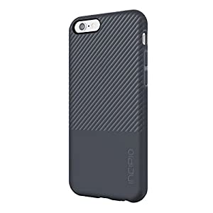 iPhone 6S Case, Incipio Twill Block Case [Enhanced Grip][Shock Absorbing] Cover fits both iPhone 6, iPhone 6S - Charcoal