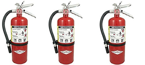 Amerex B500, 5lb ABC Dry Chemical Class A B C Fire Extinguisher (3) by Amerex (Image #1)