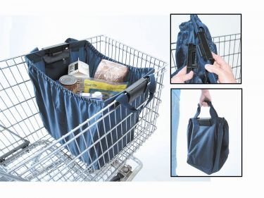 Reusable Shopping Cart Bag INCLUDES 2 BAGS: Amazon.com: Grocery ...