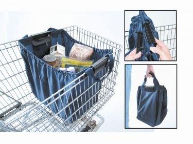 Reusable Shopping Cart Bag INCLUDES 2 BAGS: Amazon.com: Grocery ...