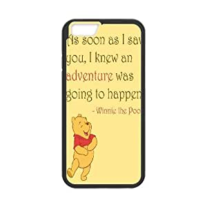 "Lycase(TM) Winnie the Pooh quote Customized Cell Phone Case, Winnie the Pooh quote Iphone 6 Plus 5.5"" Protective Case"
