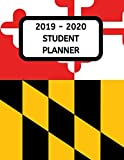 2019 - 2020 Student Planner: Maryland State Academic Planner and Dated Journal for Middle and High School Students