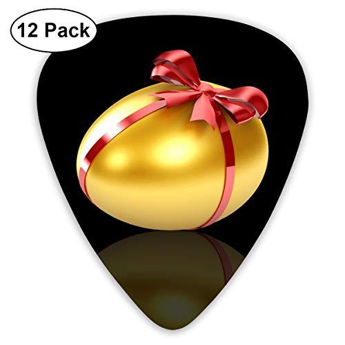 V5DGFJH.B Golden Egg Classic Guitar Pick Player's Pack for Electric Guitar,Acoustic Guitar,Mandolin,Guitar Bass ()