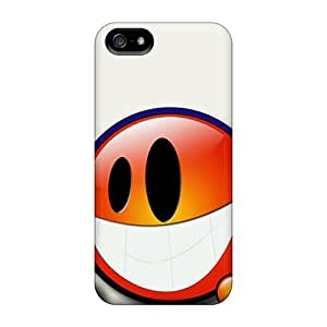 Awesome Smilie 3d Flip Case With Fashion Design For Iphone 5/5s