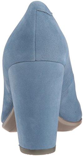 Femme Bout 75 2471retro Escarpins Blue Bleu Ecco Block Fermé Shape qwaxZp6