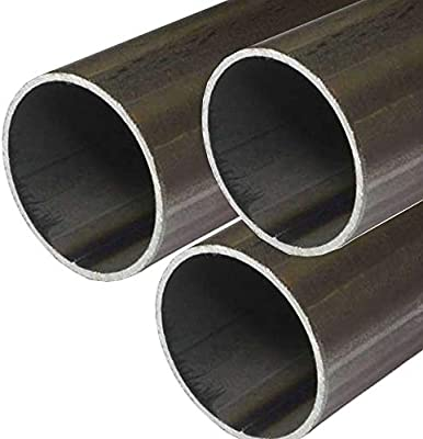 Cold Rolled Steel A513 Drawn Over Mandrel Round Tubing 0.935 ID 0.095 Wall ASTM A513 1-1//8 OD 12 Length