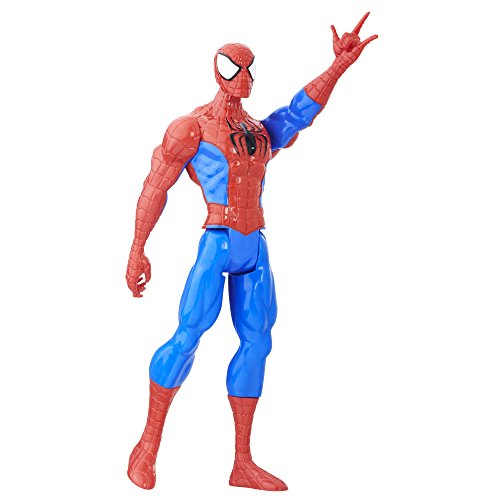 Spider Man Figurine (Marvel Spider-Man Titan Hero Series Spider-Man Figure)