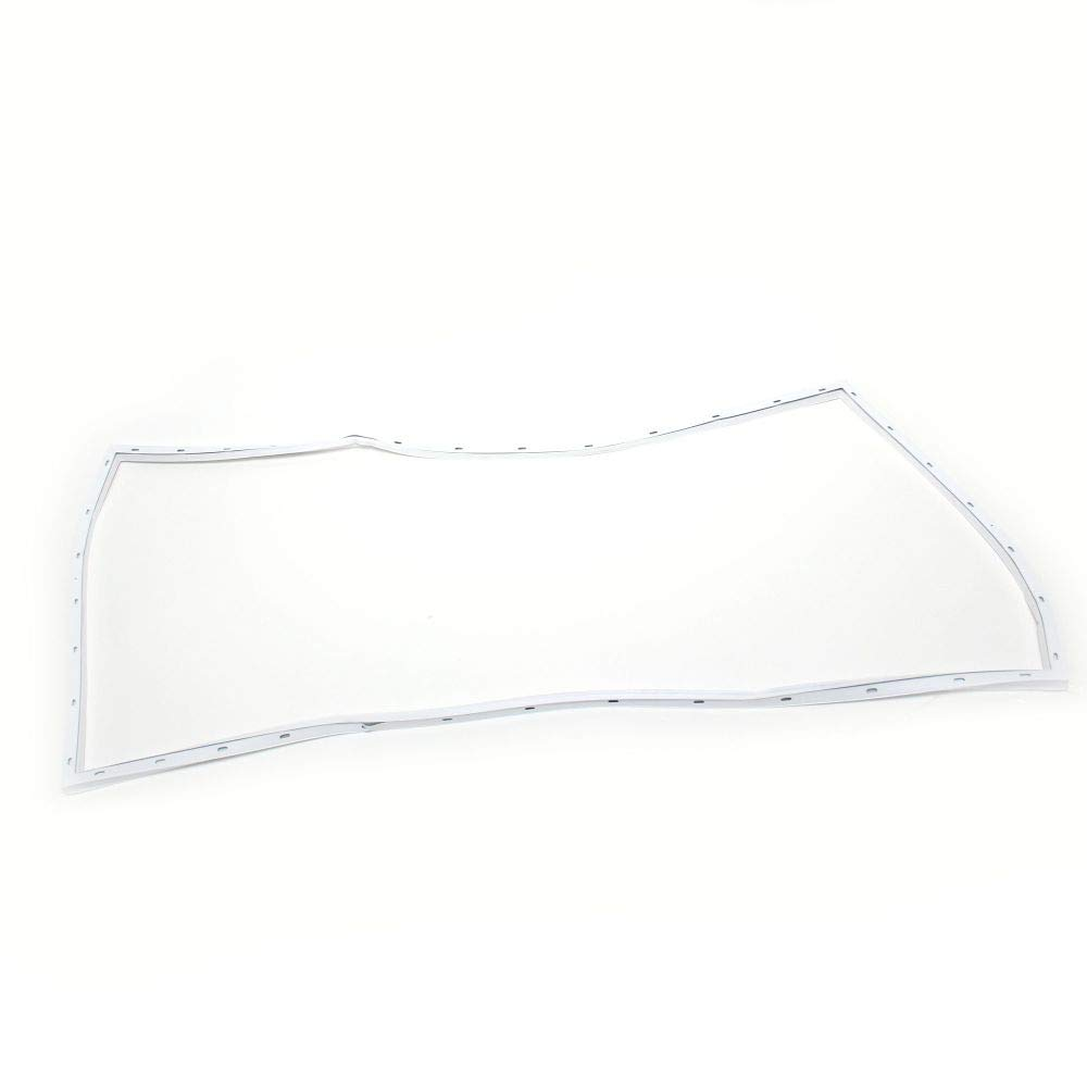 Frigidaire 216481211 Freezer Lid Gasket Genuine Original Equipment Manufacturer (OEM) Part White