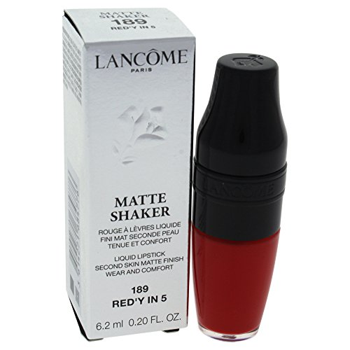 Lancome Matte Shaker Liquid Lipstick, Red y In 5, 0.2 Ounce