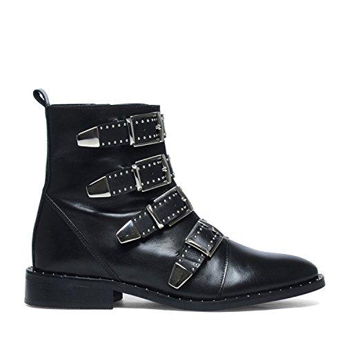 Sacha Biker-Boots mit Schnallen