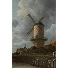 Dutch Masters Bullet Notebook Van Ruisdael: Dotted Bullet Grid Journal - A5 Softcover Dot Grid Notebook – Premium Thick Large 5.5 x 8.5 Paper BuJo – 250 pages – 125 sheets – 4 index pages