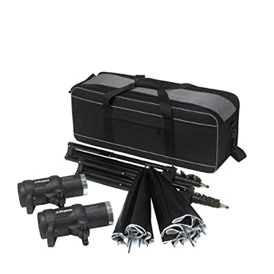 Profoto 901056 D1 Studio Kit 500/500 Air without Air Remote (Black) by Profoto
