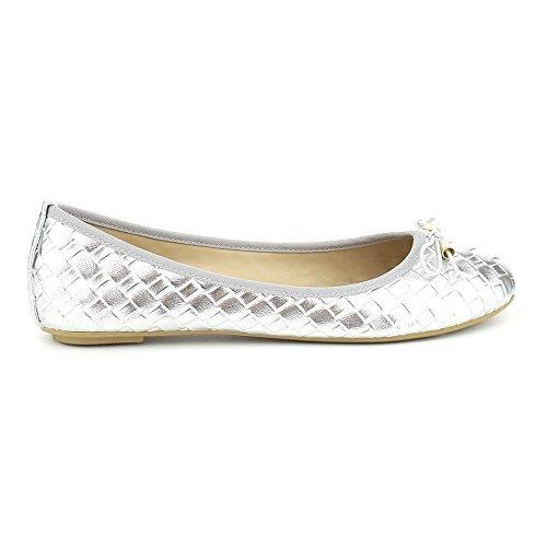 02 Silver Women Sandal - 7