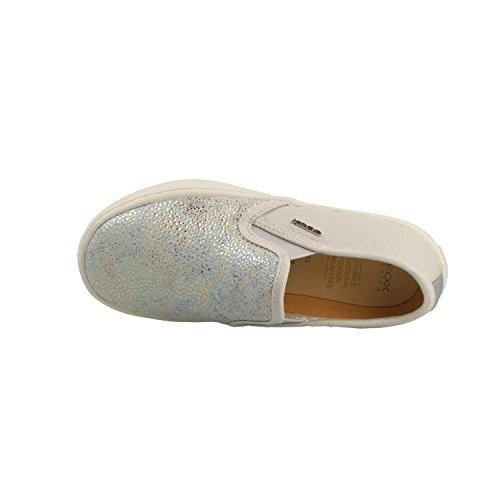 Geox Zapato J62D5D 007DW C1355 Gris-Plateado